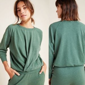 NWT Anthropologie Sundry Twist Front Sweater